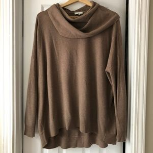Joie Cowl Neck Sweater size large